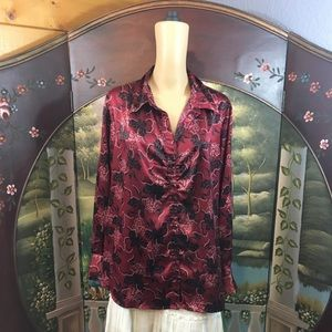 Apt 9 Long Sleeved Women's Blouse Plus 2X NWOT